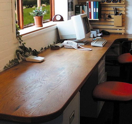 Home Office Furniture Bespoke Wooden Desks Amp Base Units