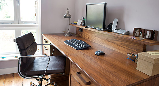 timber office desk. Build Yourself The Perfect Home Office. Timber Office Desk L