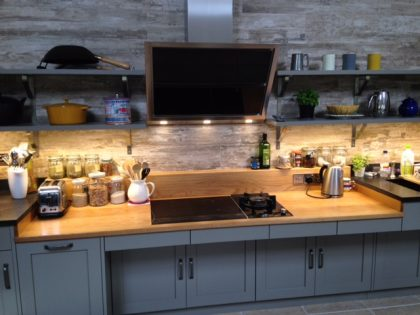 Oak Worktop and upstand