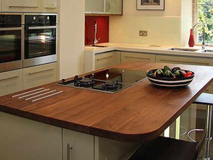 Walnut Island Worktop