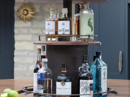 Walnut Gin Bar