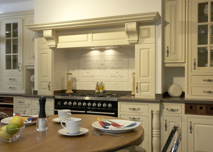 Painted Overmantel