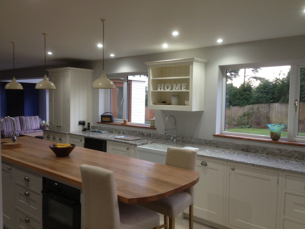 kitchen design with breakfast counter oak island and breakfast bar bordercraft 7990